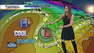 10News Pinpoint Weather with Meteorologist Megan Parry - Video