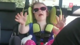 Little Girl Tells Dad To Take A Deep Breath To Calm Down  - Video