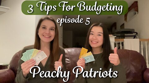 Episode 5: 3 Tips for Budgeting