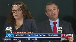Second debate for Bacon, Eastman