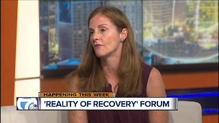 Reality of Recovery Forum - Video
