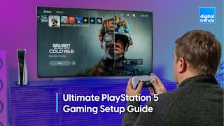 Ultimate PlayStation 5 gaming setup guide