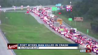Fort Myers man dies in i-75 crash - Video