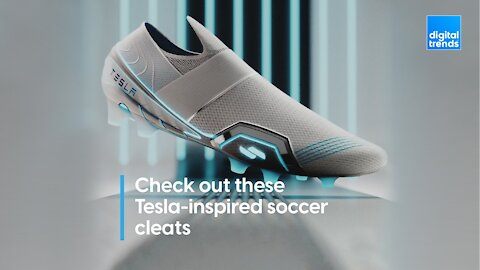 Check Out These Tesla-Inspired Soccer Cleats!