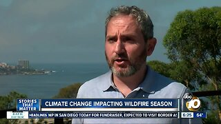Climate Change: A growing wildfire season