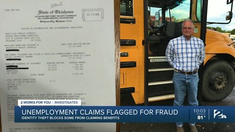 Unemployment claims flagged for fraud