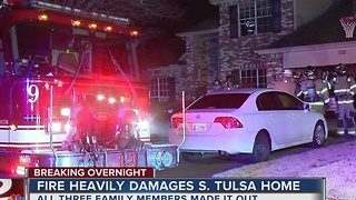TFD puts out house fire in south Tulsa - Video
