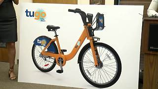 Tucson announces launch of bike share program - Video