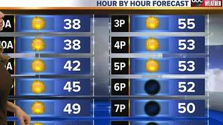 Debra's Sunday Morning Forecast - Video