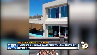 Neighbors push for short-term vacation rental fix - Video
