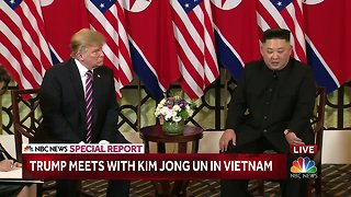 Trump meets with Kim Jong-Un in Vietnam