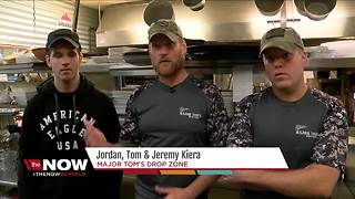 Brothers run restaurant that honors veterans - Video