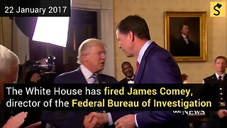 White House Fires FBI Director James Comey