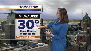 Warm up starts Tuesday, highs in the 30s - Video