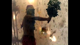 Human Vs Firecracker - Video