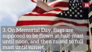 5 Facts About Memorial Day | Rare News