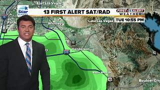 Strong storms hit Clark County