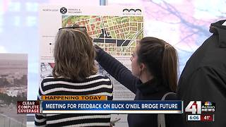 Give your input on Buck O'Neil Bridge's future - Video