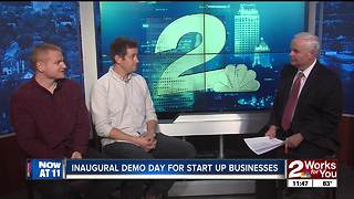Inaugural demo day for start up businesses - Video
