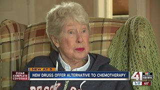KU Cancer Center patient grateful for chemo alternative