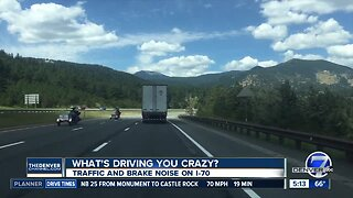 What's Driving You Crazy? I-70 noise