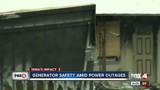 Generator Safety Amid Power Outages - Video