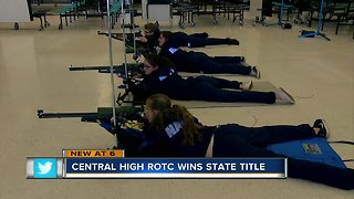 Central High ROTC wins state title