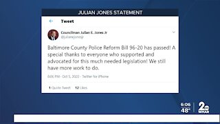 Baltimore County Police Reform Bill