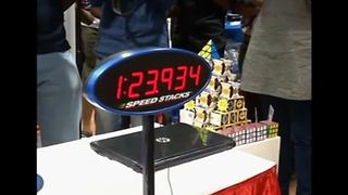 Indian man sets Guinness World Record for speedcubing - Video