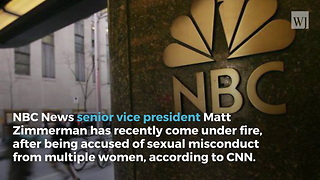 Senior NBC News Vice President Fired Over Sexual Harassment Allegations - Video