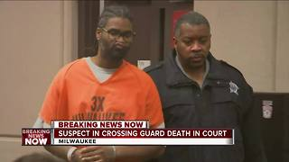Suspect accused of crossing guard hit and run is in court - Video