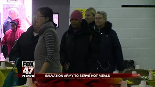 Salvation Army to serve hot meals ahead of Thanksgiving