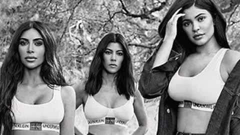 Kar Jenner Sisters STRIP DOWN Again In Never Before Seen Calvin Klein Ad!