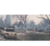 Entire Neighborhood Wiped Out by Northern California Fires - Video