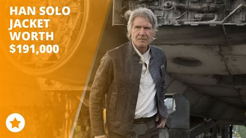 Harrison Ford auctions Solo jacket for nearly $200,000
