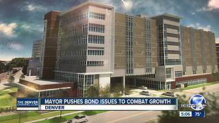 Denver Mayor Michael Hancock says referred bond issues relate to quality of life - Video