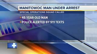 Special Operations Squad arrests Manitowoc man after standoff - Video