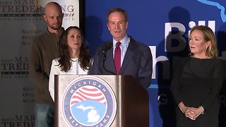 Bill Schuette gives concession speech after losing Michigan governor's race