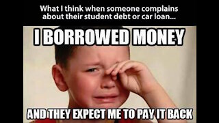 Student Loan Forgiveness aka Can We Trust You Joe?