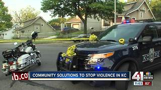 Community solutions to stop violence in KC - Video