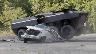 My 'Unstoppable' Army Truck Destroys Anything In Its Path | RIDICULOUS RIDES