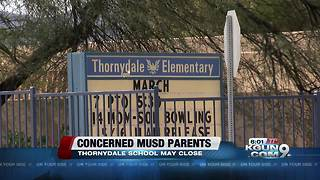 Marana Unified School District to discuss possible closure of elementary school