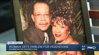 Fox 4 helps Cape Coral woman honor husbands military career after his death