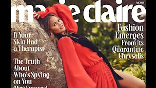 Chrissy Teigen talks to her kids about social issues like adults