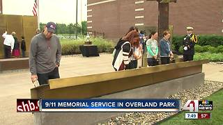 9/11 memorial ceremony in Overland Park