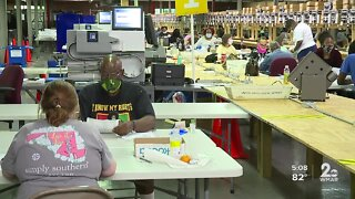 Ballot counting continues as the race for Baltimore mayor gets close