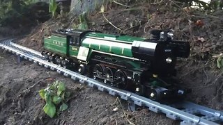 Epic Train Set Snakes Through House - Video