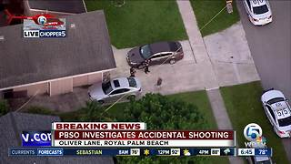 1 person injured in Royal Palm Beach accidental shooting - Video