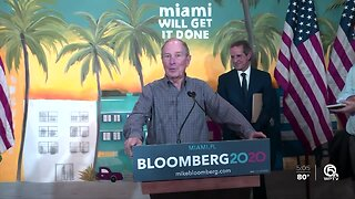 Bloomberg rally in West Palm Beach