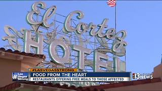Food from the heart helping Las Vegas' first responders, families affected by shooting - Video